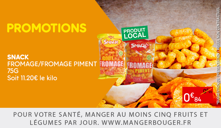 SNACK FROMAGE/FROMAGE PIMENT